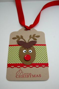 UK Independent Stampin' Up! Demonstrator - Julie Kettlewell: Christmas Tags