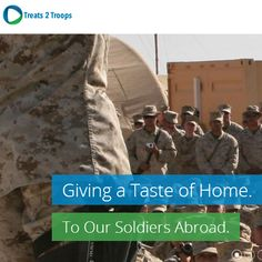 Treats 2 Troops is a #nonprofit organization founded by 11 year old former #GirlScouts' member Emma Vermaak. Determined to send the dedicated men and women serving abroad a sweet taste from home, Emma and her Mom started a website dedicated to doing just that:   treats2troops.org
