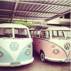 VW Vans - one for me and one for you !