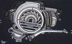 Vespa Vbb, Vespa Lambretta, Vespa Scooters, Vespa Motorcycle, Bike, Vespa Vector, Vespa Logo, Vespa Super, Engine Tattoo