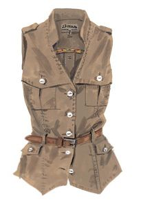 You'll want lots of pockets when out on Safari, so pack a fun and stylish vest!