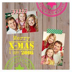 Kerstkaart met eigen foto