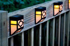 solar lights | Outdoor Solar Lights | Landscape Lighting | Home Improvement Ideas