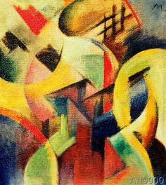 Franz Marc - Small composition I