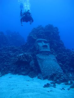 Snorkeling at Easter Island