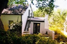 Layout design idea (Cottage in Swellendam) Cape Dutch, Find Cheap Hotels, Unusual Homes, Hotel Reservations, Farm Houses, Tree Houses, Hotel Deals, Layout Design, South Africa