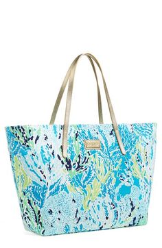 Lilly Pulitzer® 'Resort' Tote available at #Nordstrom www.MadamPaloozaEmporium.com www.facebook.com/MadamPalooza