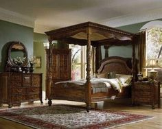 Product West Indies Canopy Bed American Signature West Indies Collecti American Signature