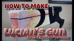 Lucians gun from League of Legends