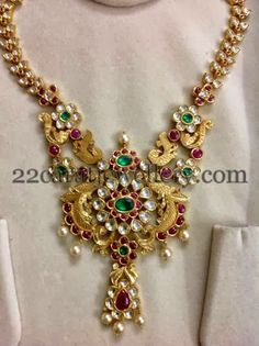 Jewellery Designs: Gemstone Necklaces