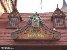 Hooks Tavern Magic Kingdom 1993