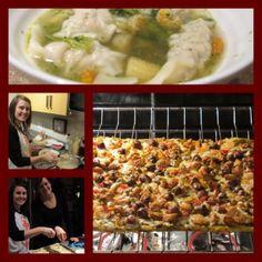 War wonton soup and gluten free jambalaya flatbread Jambalaya, Appetizers, Soup, Gluten Free, War, Chicken, Cooking, Blog, Recipes