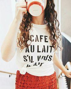 Café com leite, por favor @anthro_orlando