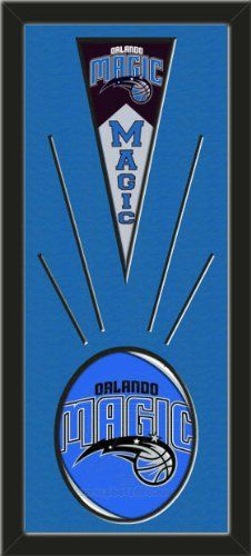Orlando Magic Wool Felt Mini Pennant & Orlando Magic Team Logo Photo - Framed With Team Color Double Matting In A Quality Black Frame-Awesome & Beautiful-Must For A Championship Team Fan! Most NFL, MLB, NBA, Teams Available-Plz Mention In Gift Message If Need A different Team Art and More, Davenport, IA http://www.amazon.com/dp/B00I3D5GK0/ref=cm_sw_r_pi_dp_vXsEub0MAVTFS