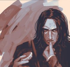 HP / Severus Snape [Snarry] ✒️ My art tag: Professor Severus Snape, Snape Harry, Alan Rickman Severus Snape, Severus Rogue, Harry Potter Anime, Harry Potter Film, Slytherin, Hogwarts, Snape And Lily