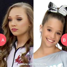 Maddie or Mackenzie Click here to vote @ http://getwishboneapp.com/share/6687928