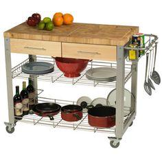 Chris & Chris 20 x 38 x 35 Stadium Series Kitchen Work Station - Costco $329