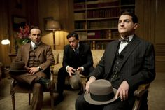 Still of Michael Stuhlbarg, Anatol Yusef and Vincent Piazza in Boardwalk Empire (2010)