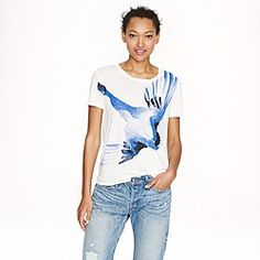 Marc Alary™ for J.Crew passerina tee - short-sleeve tees - Women's knits & tees - J. J Crew Men, Signature Look, Vogue Fashion, Women's Summer Fashion, Short Sleeve Tee, Tees, What To Wear, My Style, Fall Capsule