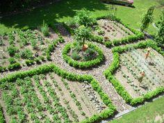 Bauerngarten - Bilder und Fotos