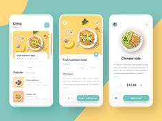 Food delivery App by Xupan for RaDesign on DribbbleYou can find Food delivery and more on our website.Food delivery App by Xupan for RaDesign on Dribbble Design Android, App Ui Design, Flat Design, Design Design, Graphic Design, Interface Web, User Interface Design, Food App, Ui Design Mobile
