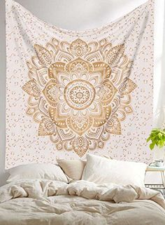 Golden Ombre Tapestry