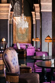 Image result for Hotel Selman Marrakech reception