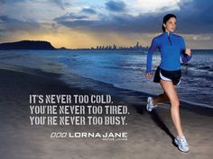Runner Things #1112: It's never too cold. You're never too tired. You're never too busy.
