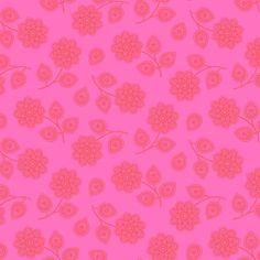 Cerise Henna - Eden by Tula Pink - Blumenstoff