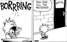 Calvin Und Hobbes, Calvin And Hobbes Comics, Comics Love, Fun Comics, Cross Stitch Fairy, Education Humor, Sarcasm Humor, Smiles And Laughs, Comic Sans