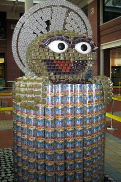 Look! Canstruction Class competition to allow charity and Construction.