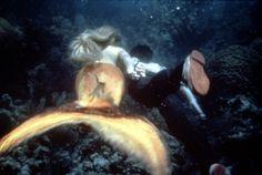 Daryl Hannah and Tom Hanks in Splash! LOVED this Mermaid movie!