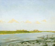 La Lys à Latem [The River Lys at Latem], c.1905