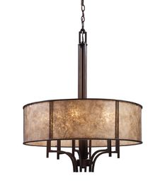 ELK Lighting Barringer 6 Light Chandelier in Aged Bronze 15034/6 | Elk Lighting Lights | ELK Lighting | ELK Lighting Chandeliers | ELK Lighting Pendants | Lighting New York | Lighting Fixtures