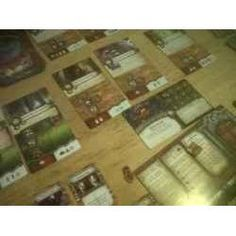 I used to play a lot of board and card games when I was younger, but then life took over and I didn't seem to be able to find the time. Elder sign is the first. Halloween Board Game, Game Night, Card Games, Geek Stuff, Signs, Cards, Top, Geek Things, Shop Signs