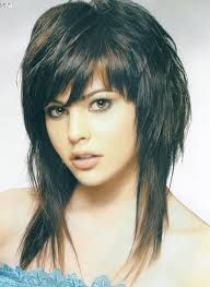 Image Result For Hairstyles For Round Faces Long Shag Hairstyles Medium Hair Styles Medium Length Hair Styles
