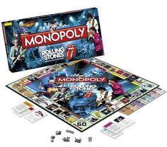 Amazon.com: Monopoly®: The Rolling Stones Collector's Edition: Toys & Games