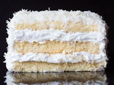THOMAS KELLER'S COCONUT CAKE... Wtf this recipe calls for mayo?
