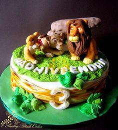 Lion King Theme Cake  By Paisley Petals Cakes CakesDecorcom cakepins.com
