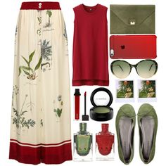 How To Wear Tropics - Top Set 12 27 16 Outfit Idea 2017 - Fashion Trends Ready To Wear For Plus Size, Curvy Women Over 20, 30, 40, 50