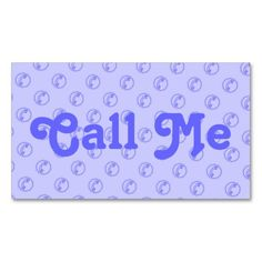 50% Off All Select Business Cards. 11-13-13 *Use Code > MAKEIMPRESSN < Custom Call Me Business Card With Phone.