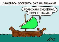 America scoperta da islamici