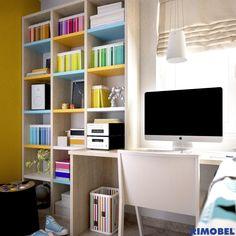 F_93_Det01 Dale el máximo color a tu habitación, combina los partidores de los estantes a tu gusto y disfruta!!
