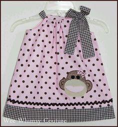 Love this pillow case dress!!
