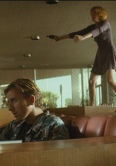 Tim Roth & Amanda Plummer ( pulp fiction by quentin tarantino)