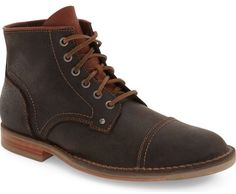 Cole Haan Weston Cap Toe Boots