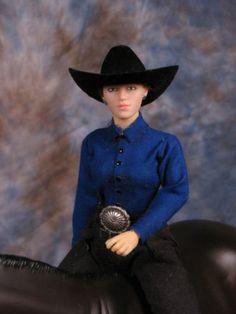 western rider doll for Breyer, Peter Stone, resin horse horses, NEW Yvonne Zica