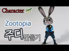 How to make Zootopia - Judy Hopps - YouTube