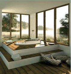 A Sunken Bathtub Ahhh How Inviting