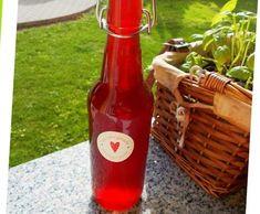 Rezept Himbeerlikör klar, ohne Sahne von erdbeere9903 - Rezept der Kategorie Getränke